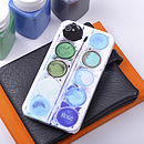 Personalised Paint Set case for iPhone 4/4S Blues