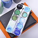 Personalised Paint Set case for iPhone 5/5S Blues