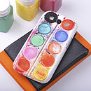 Paint Set Phone Case For Samsung Galaxy S3