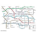 Personalised Metro Map Print