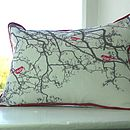 Bird Song Cushions