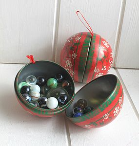 Scandi Bauble Gift Box - tree decorations