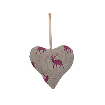 Lavender Heart Stag