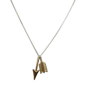 Broken Arrow Necklace - necklaces & pendants