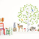 Birch Woodland Wall Stickers