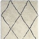 Benni Diamond Pattern Wool Rug