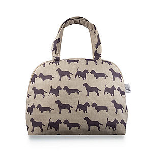 Dogs Bowling Bag - wash & toiletry bags