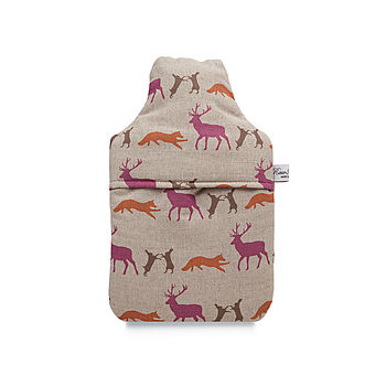 Animals Hot Water Bottle