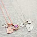 Design Your Own Personalised Heart Necklace