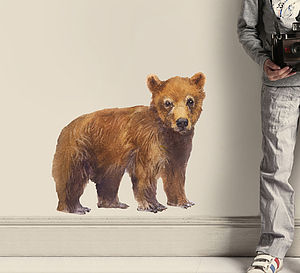 Bear Wall Sticker - office & study