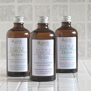 Aromatherapy Bath Oil Collection