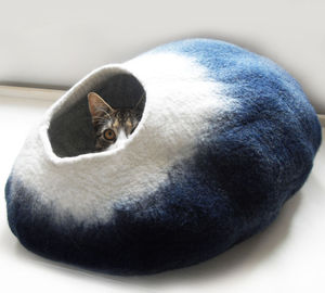 Cat Bed Cave Cocoon And Ball - cats