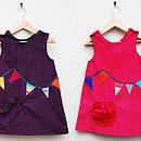 Bunting Girls Dress