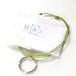 Personalised Silver Child's' Necklace - necklaces