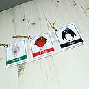 Personalised Christmas Gift Tags