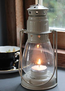 Stoney Road Hanging Lantern - lights & candles