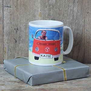 Personalised Camper Van Mug - tableware