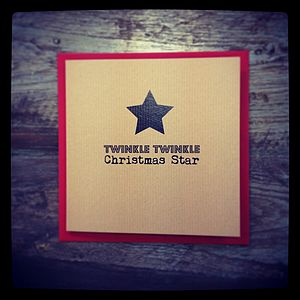 Twinkle Twinkle Pack Of Christmas Cards - cards