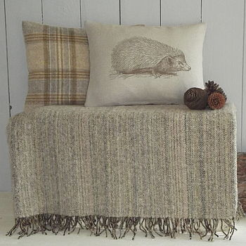 ' Hedgehog ' Cushion And Throw Collection