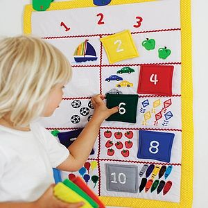 Learn To Count Wall Hanging - soft toys & dolls