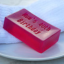 Personalised Bath Soap For Her
