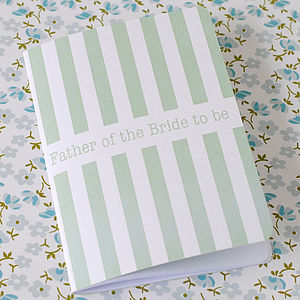 Father Of The Bride To Be Notebook - notebooks & journals