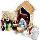 Soft Play Nativity Scene