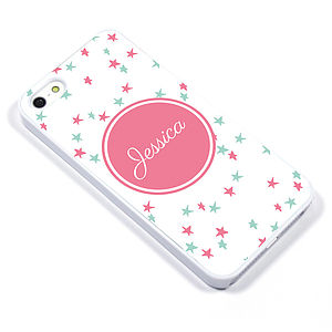 Personalised Monogram Star Case For iPhone - bags & purses