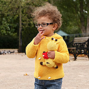 Double Breasted Merino Wool Cardigan - babies' cardigans
