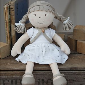 Organic Rag Doll In Gift Box - keepsakes