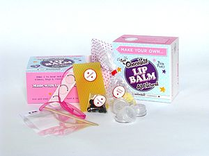 Chocolate, Silver, Gold Or Pink Lip Balm Kits - toys & games
