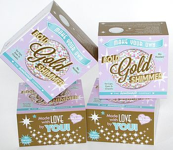 Gold Shimmer Lip Balm Kit