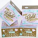 Gold Shimmer Lip Balm Kit