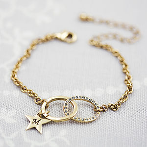 Personalised Infinity Charm Bracelet - gifts under £25 for her