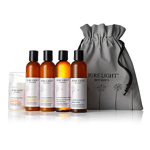Total Pampering Organic Gift Bag - bathroom