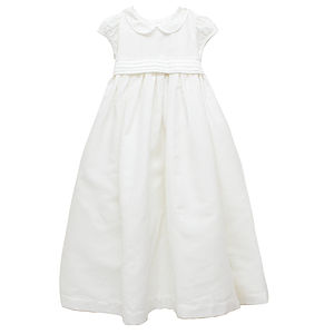 French Design Christening Gown