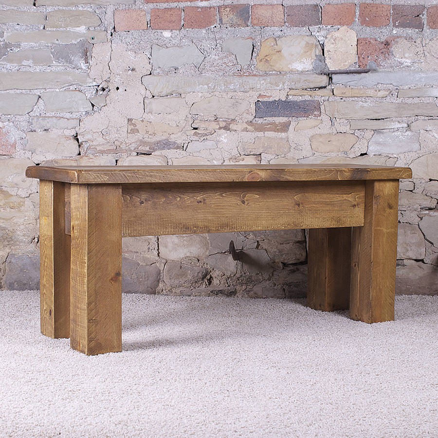 Solid Wood Dining Bench By H F