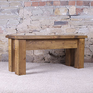 Solid Wood Dining Bench - furniture