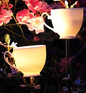 Tea Cup Tea Light Burners Gift Pack - christmas lighting