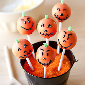 Halloween Cake Pop Kit - baking kits