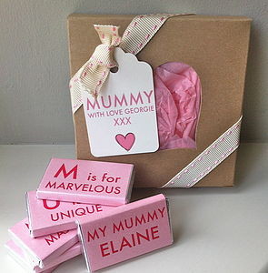 Mummy's Chocolate Gift Box - food & drink gifts