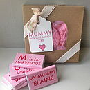 Mummy's Chocolate Gift Box