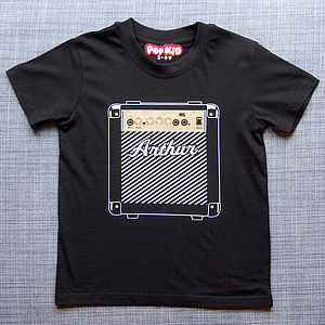 Personalised Kids Marshall Amp T Shirt