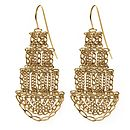 Large Pagoda Earrings