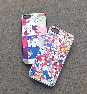Arty Abstract I Phone/I Pod/I Pad - men's accessories
