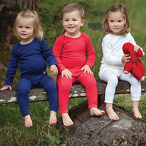 Superfine Merino Toddler Base Layer Set - children's nightwear