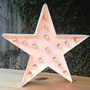 Star Shape Marquee Light