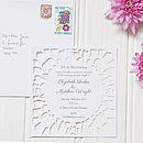 Petale Floral Wedding Invitation