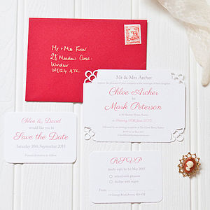 Regalia Wedding Stationery