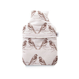 Birds Hot Water Bottle